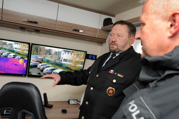 technické vybavení pro práci strážníků je na špičkové úrovni