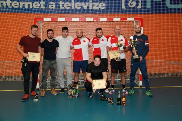 Vítězné družstvo OHS Karviná