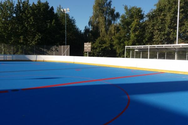 Hokejbalové hřiště u ZŠ M. Pujmanové