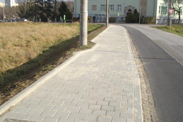 Chodník MK Selská – 1. etapa