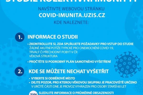 Chcete se zapojit do studie kolektivní imunity?