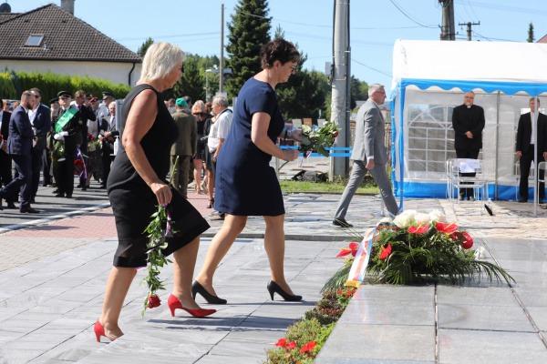 V sobotu se konalo pietní shromáždění k 77. výročí životické tragédie