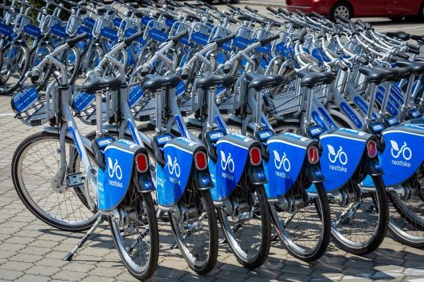 Zahájení provozu bikesharingu 26.7.2019