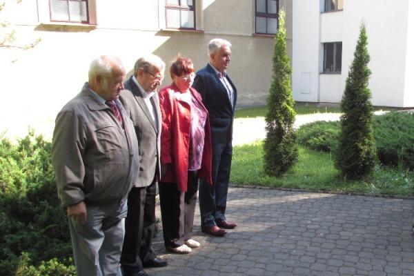 Pietní akt u příležitosti oslav 73. výročí osvobození