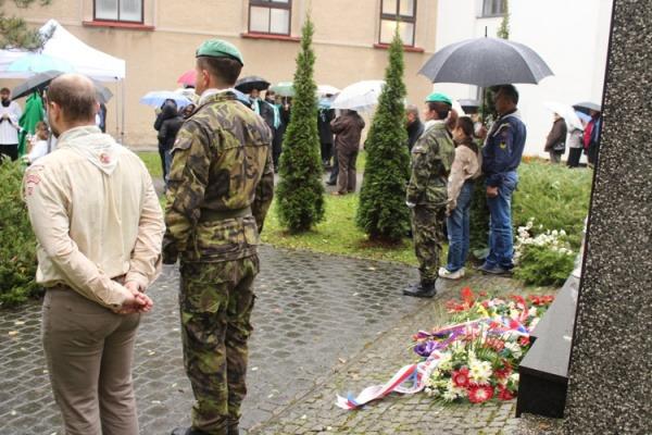 Pietní akt u příležitosti připomenutí 100. výročí Dne vzniku samostatného Československa