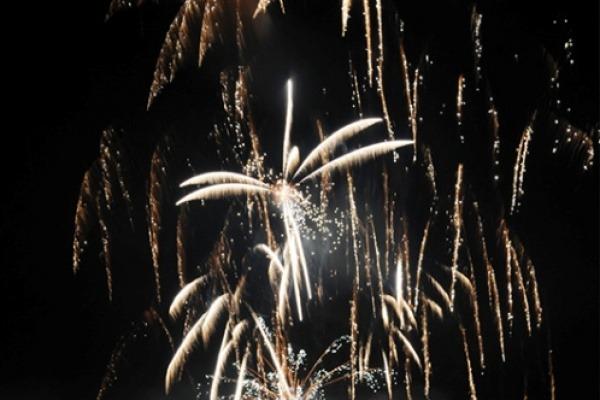 Novoroční ohňostroj 2017