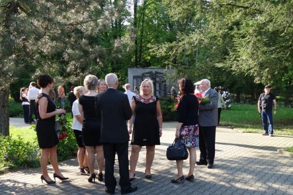 Pietní shromáždění u příležitosti výročí Ostravsko-opavské operace