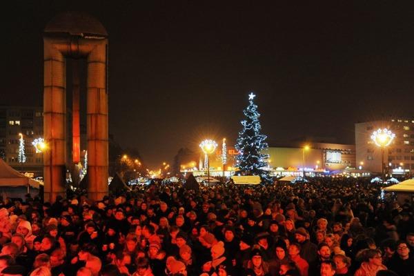 Rozsvícení vánočního stromu 2017
