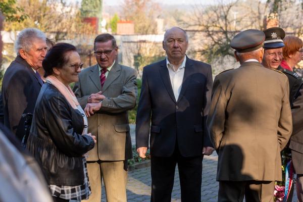 Pietní akt u příležitosti Dne vzniku samostatného Československa