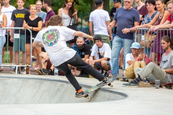 Multigenerační sportovně-relaxační areál hostil Český skateboardový pohár 2019