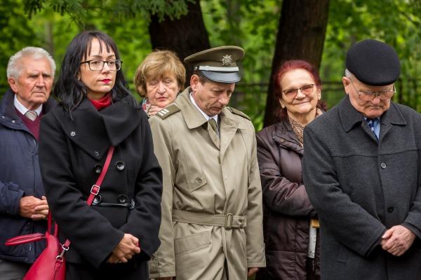 Pietní akt při příležitosti 74. výročí Ostravsko-opavské operace