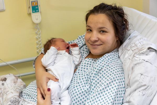 Primátor Havířova přivítal první miminka roku 2020