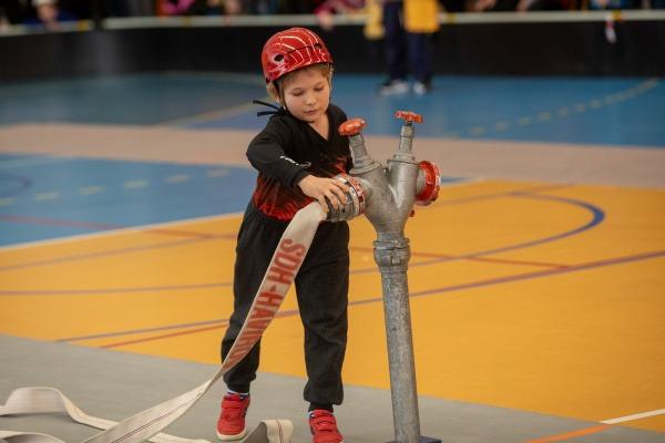 Halová pohárová soutěž mladých hasičů v Havířově