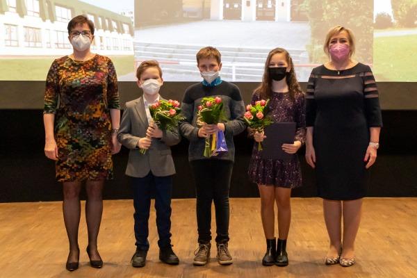 Město Havířov ocenilo vynikající pedagogy a žáky za rok 2020