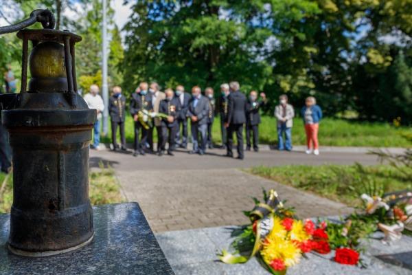 Pietní akt u příležitosti připomenutí 59. výročí důlní tragédie na Dole Dukla se uskutečnil bez účasti široké veřejnosti