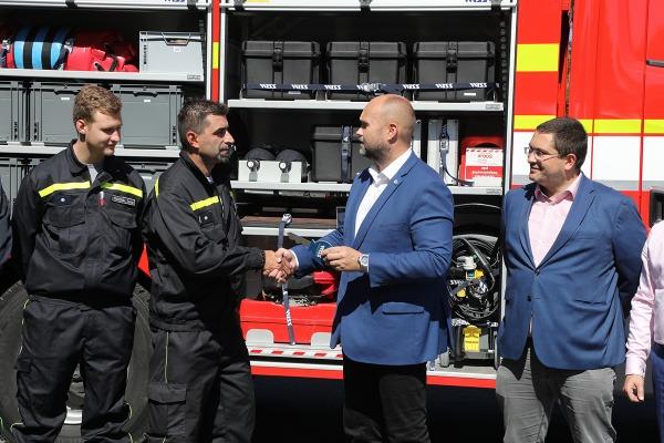 Město pořídilo dobrovolným hasičům novou cisternovou stříkačku. Přišla na 8 milionů korun