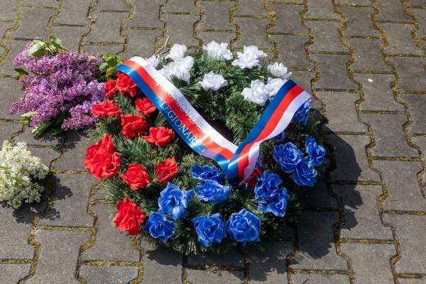 Pietní akt při příležitosti 75. výročí Ostravsko-opavské operace