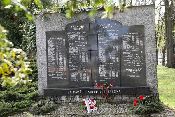 Pietní akt u příležitosti 76. výročí Ostravsko-opavské operace