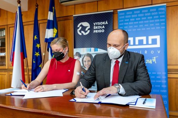 Dlouhodobá spolupráce bude pojit statutární město Havířov a Vysokou školu PRIGO, z.ú.