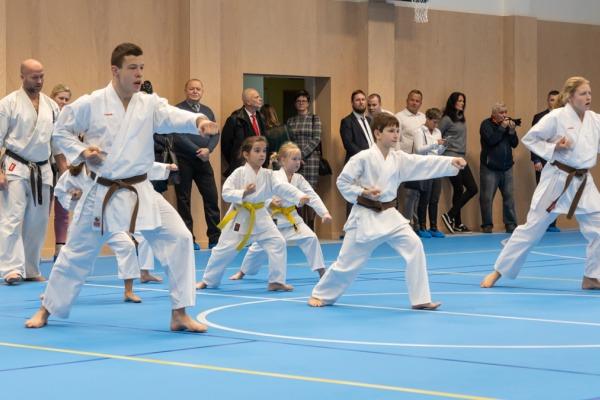 Základní škola M. Kudeříkové má novou tělocvičnu